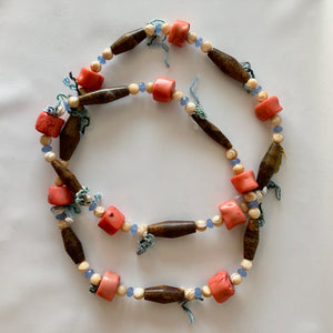Mulit-Colored Long Necklace