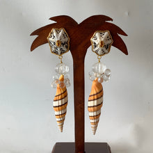 Superb Fancy Mitra Taeniatum Vermeil Earrings