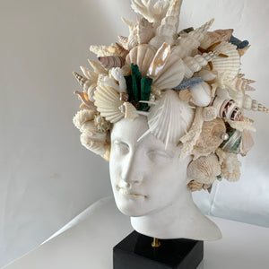Theia, Greek Goddess, Shell Encrusted