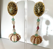 Gemstone, Urchin Party Earrings