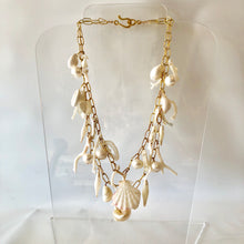 White Charm Necklace