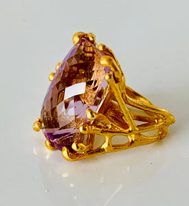 Fabulous Kunzite Ring