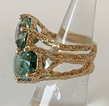 14-Karat Gold Tourmaline Ring