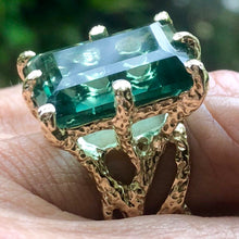 Topaz Ring Set in 14 Karat Gold