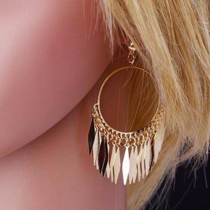 Madison | Metal Fringe Earrings