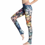 'Artsy Pants' | Multi-Print Leggings