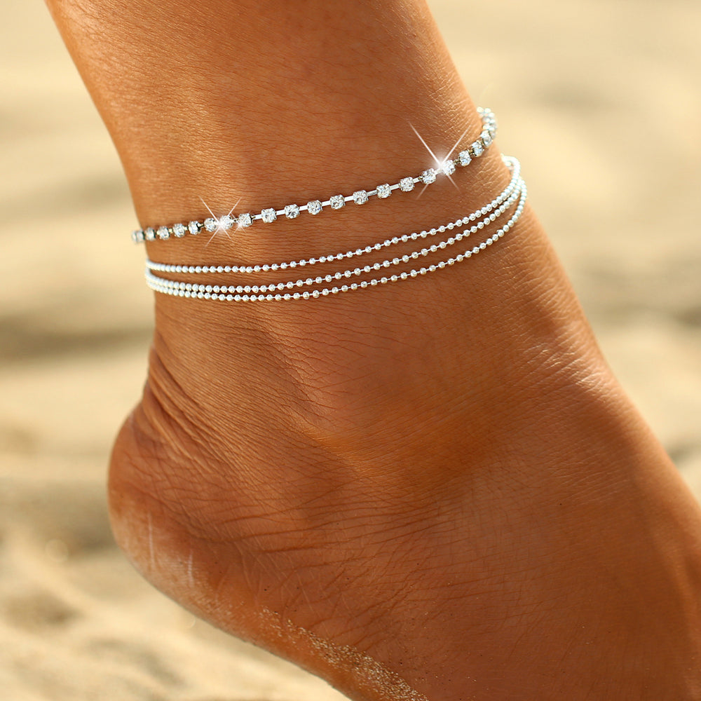 Lauralee | '4 Layers' Anklet