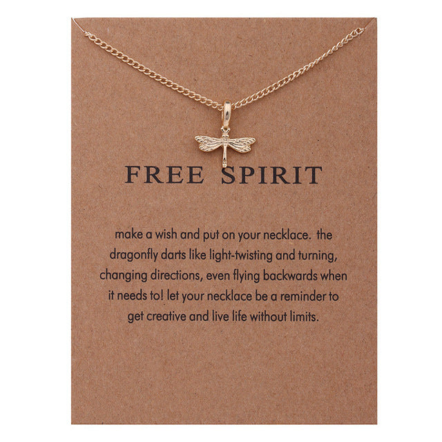 Free Spirit | Necklace Card