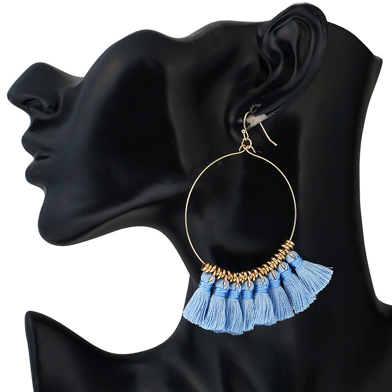 Mahalia | Mini Tassel Earrings