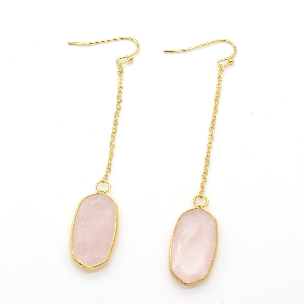 Octavia | 'Oval' Drop Earrings