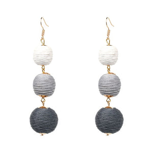Tessa | Tapered Ball Earrings