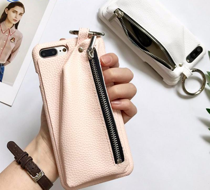 'Zipper Pouch' | Phone Wallet Case (iPhone Case 7, 7 Plus, 6 6s, 6 6s Plus)