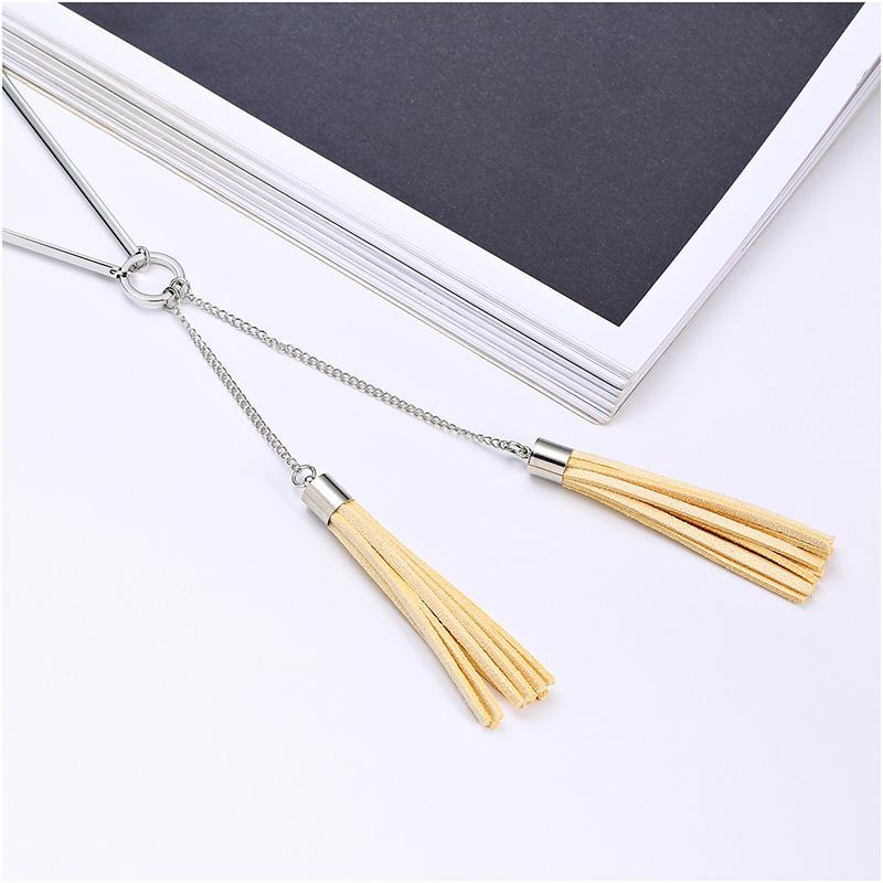 Talia | 'Two Tassels' Necklace