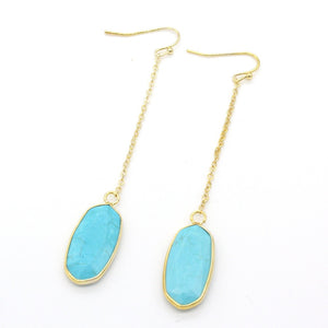 Oceana | 'Oval' Drop Earrings