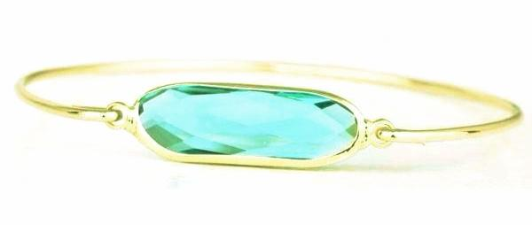 Bijou | 'Bleu Crystal' Bangle