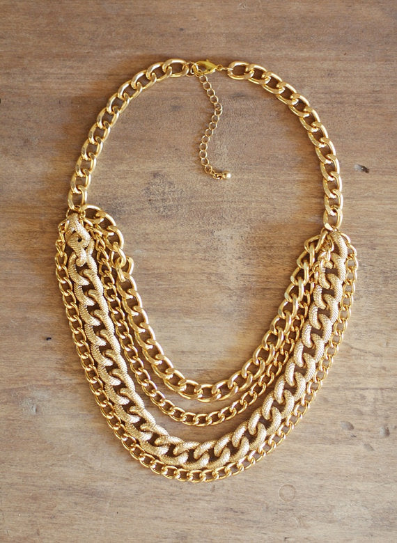 Cora | 'Chunky Gold' Necklace
