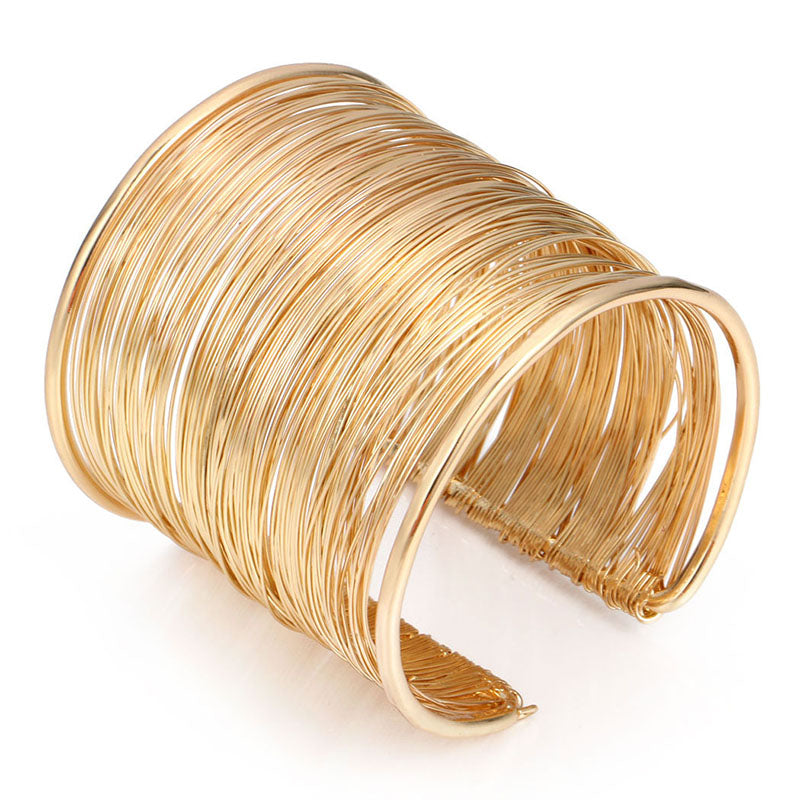 West | Wire Cuff Bangle