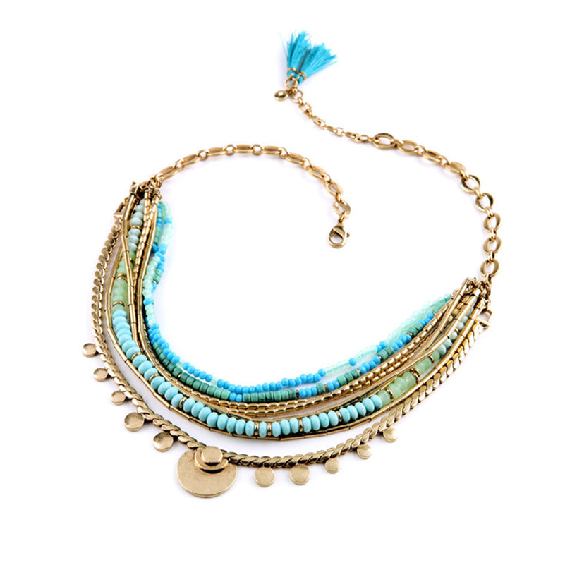 Malu | Multilayer Boho Necklace