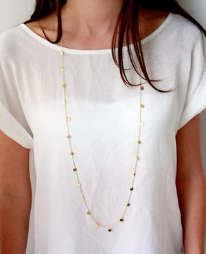 Maci | Mini Coins Necklace