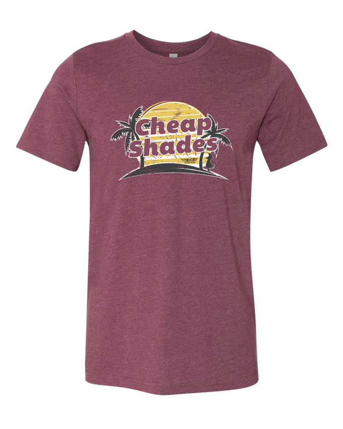 Cheap Shades T-shirt Red