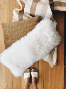 Oblong Fur Pillow