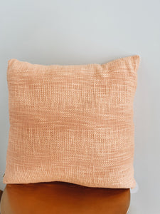 Peach Maya Cushion
