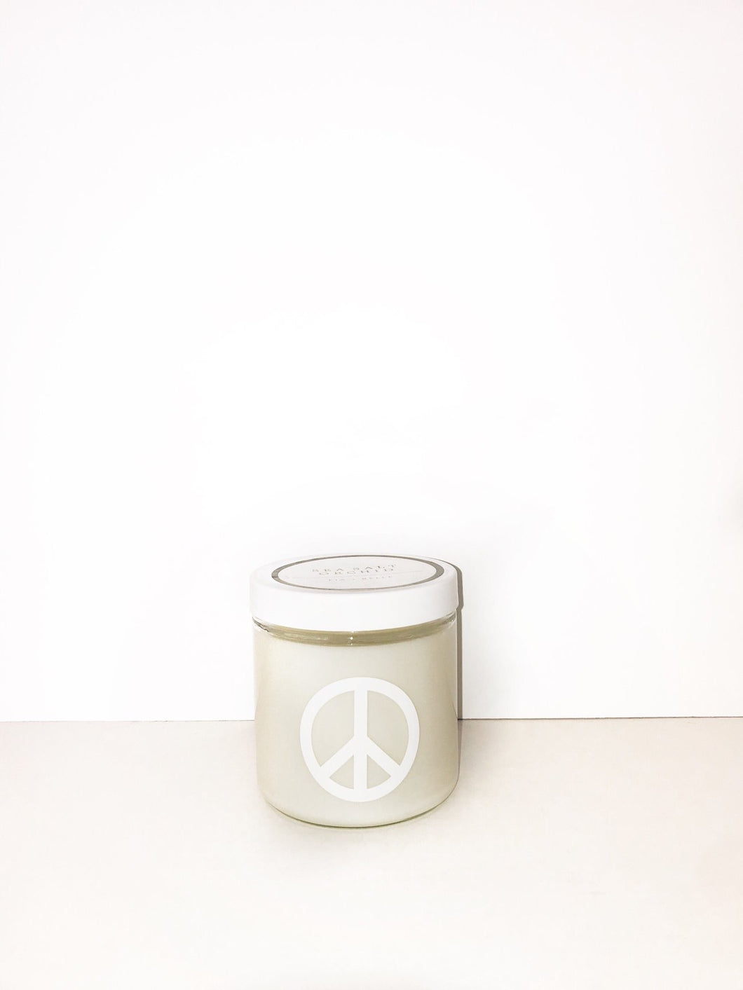 Unscented Peace Candle