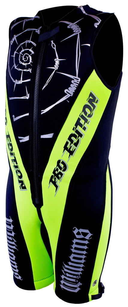 Pro Edition Barefoot wetsuits Williams Black/Green xs