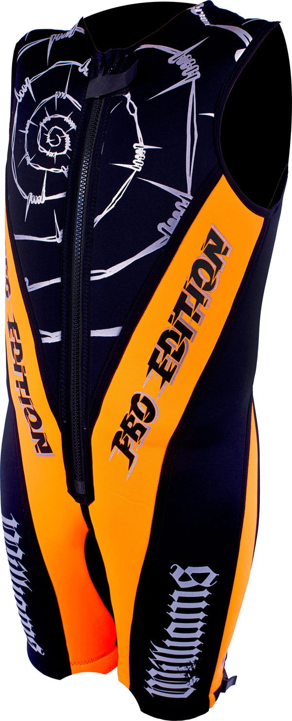 Pro Edition Barefoot wetsuits Williams Black/Orange xs