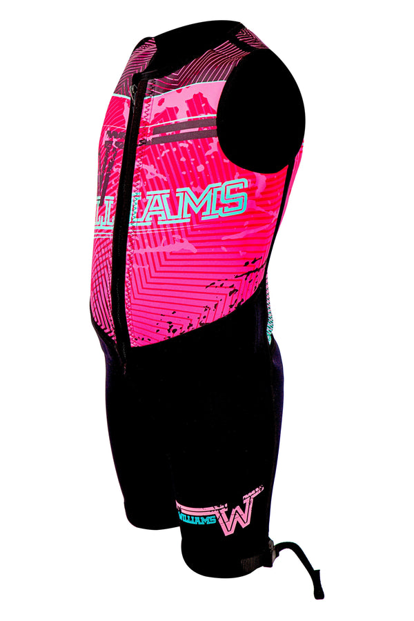 Youth Bouyancy Suit wetsuits williams Black/Pink 8