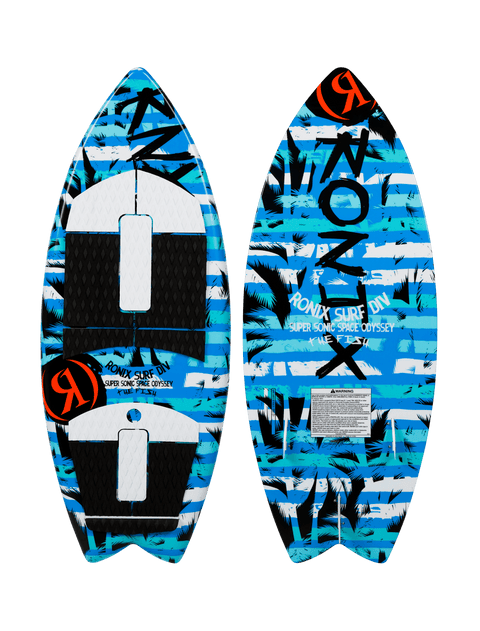 2021 Ronix Super Sonic Space Odyssey - Boys Fish
