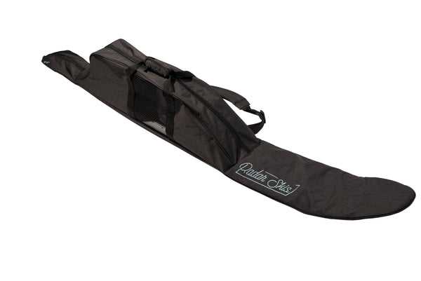 2021 Half Padded Slalom Ski Case Watersports - Accessories - Covers Radar Charcoal / Sky Blue 63to67