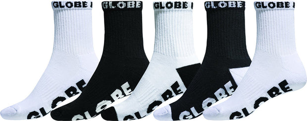 Large Globe Quarter Sock