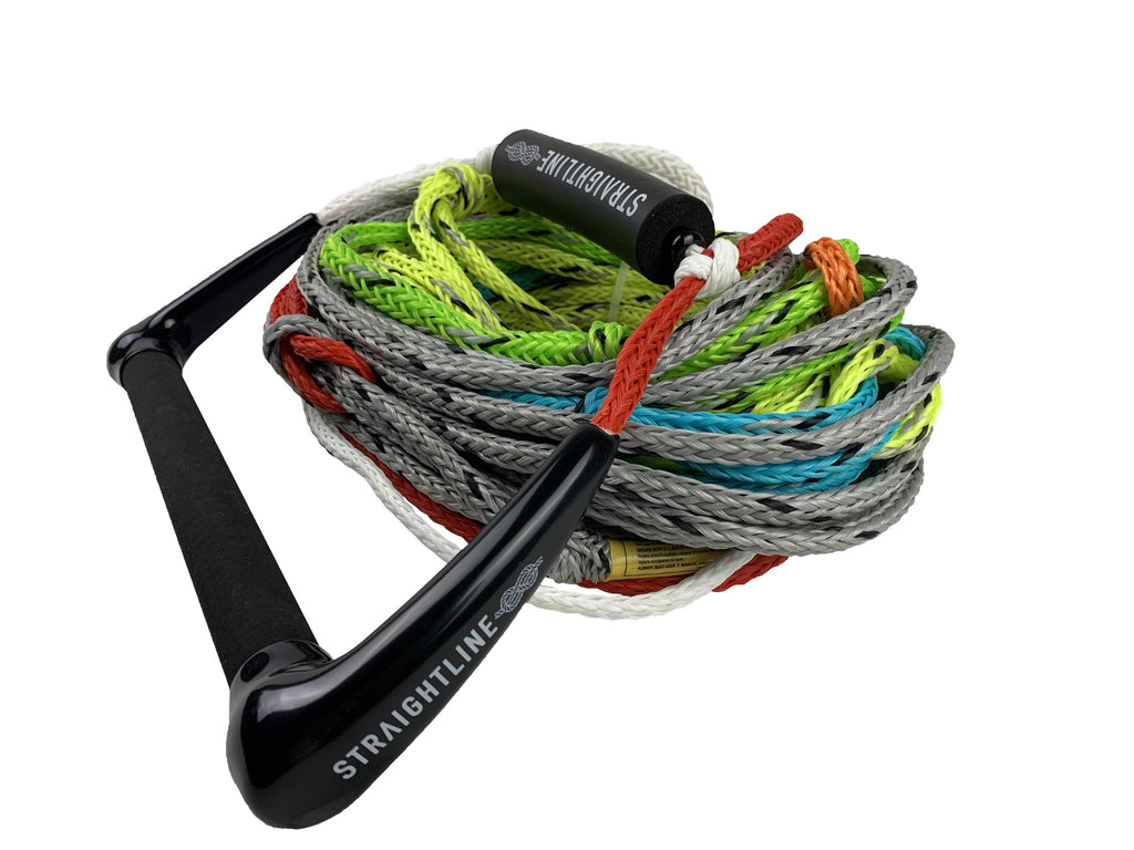 Team Lv Handle W/ 5 Section Watersports - Ropes And Handles - Ski Ropes Straightline