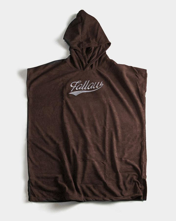 FOLLOW TOWELIE Accessories - Mens - Towels - Hooded Follow Brown LARGE
