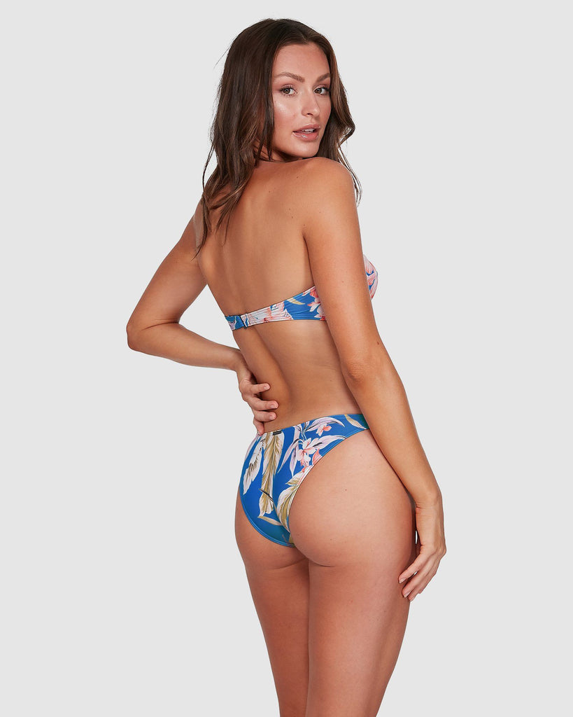 SAMAYA TROPIC BIKINI BOTTOMS Clothing - Womens - Swimwear - Bottoms Billabong MOROCCAN BLU 6