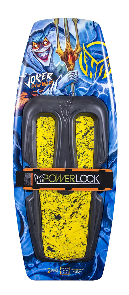 Joker KB w/ Powerlock Strap Watersports - Kneeboards - Fibreglass HO