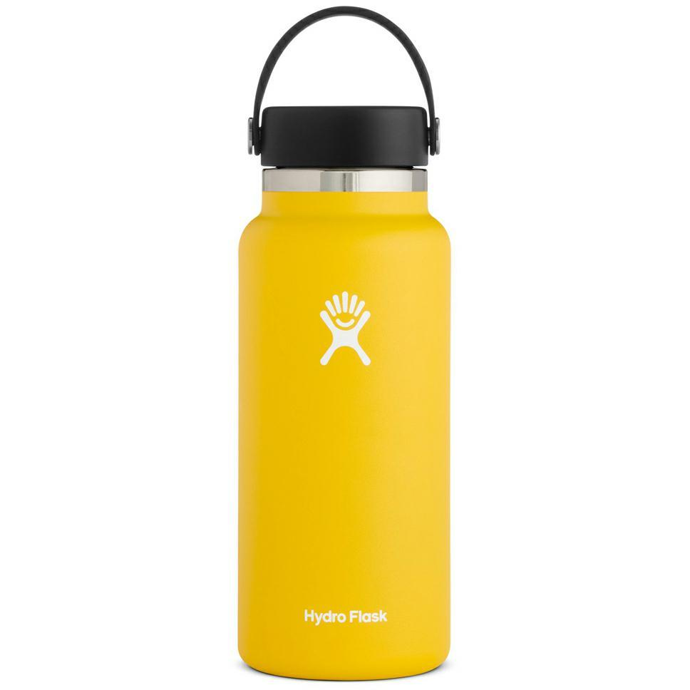 2.0 Hydration 32oz Wide Sunflower Accessories - Drink Bottles Hydroflask Sunflower 32oz