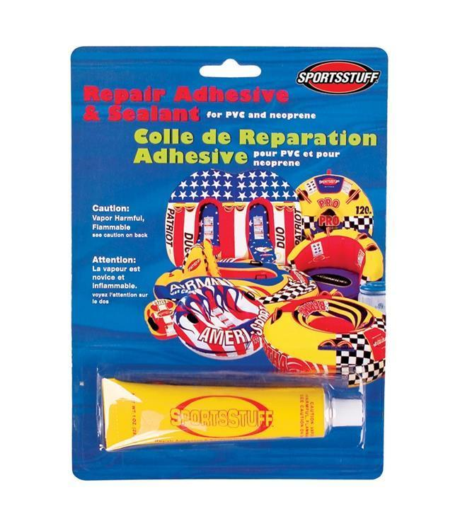 S/S Glue & Patch Repair Kit tubes Sports Stuff