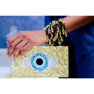 Stylish Eye Clutch Vibes With Detachable Shoulder Chain (PREORDER)