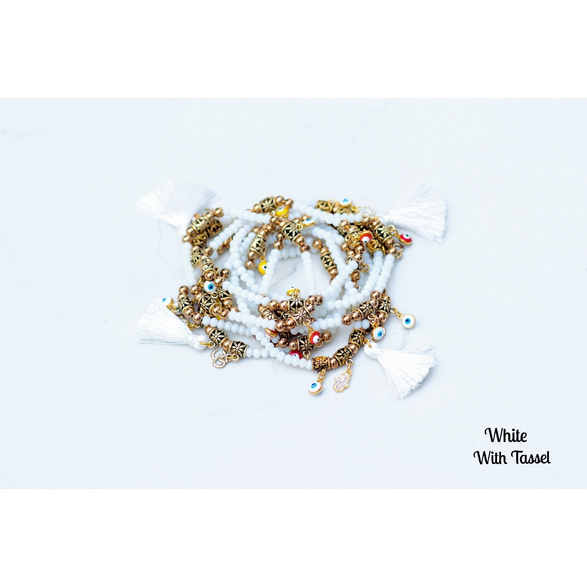 The Good Vibe Charm Bracelets |Best Seller (5pcs)