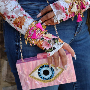 Stylish Eye Clutch