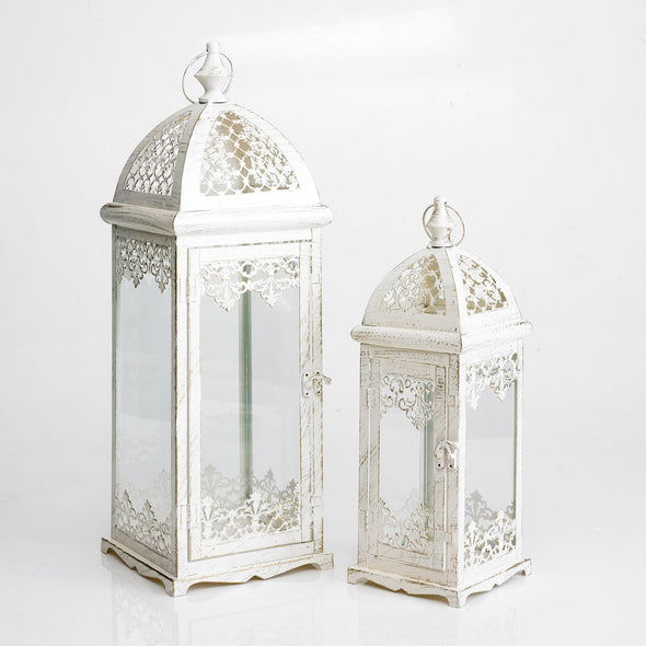 Vintage French Lantern Set Of 2