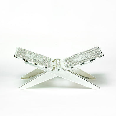 Luxurious Silver Quran Stand-Riyal