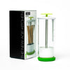 Green Fresh Glass Herb Storage