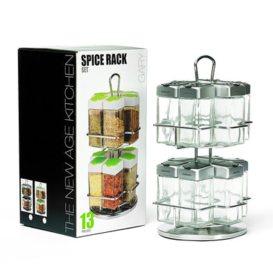 13 Pcs Spice Rack
