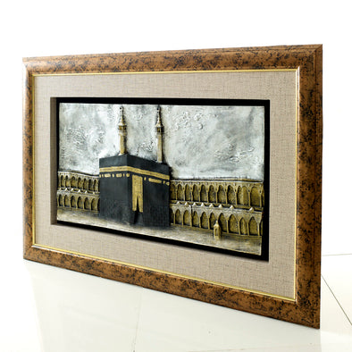 3D Captivating Holy Kaaba Frame