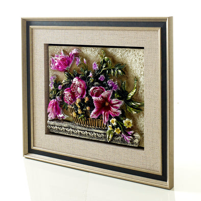 Beautiful 3d Flower Frame