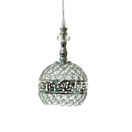 Silver Gem Nickel Ceiling Pendant