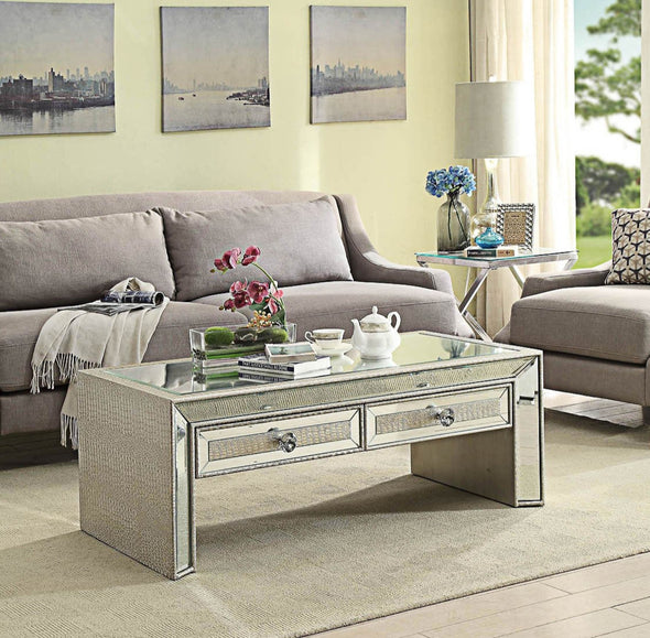 Sofia Mirrored Coffee Table